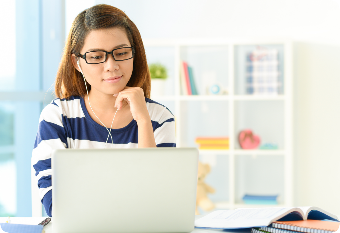 Our online GPA booster for grades 7-9 helps students stay on course.